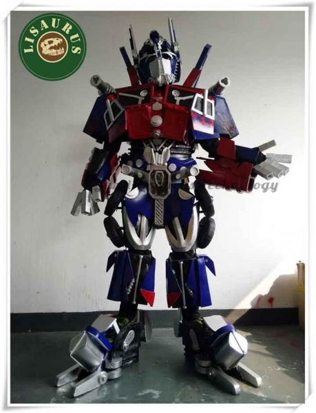 Quality Cosplay 3D Deluxe Optimus Prime Transformers Movie Superhero Suit for Men for sale