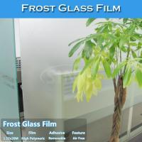 China Free Shipping Frosted Matt Vinyl Sticker For Glass/Window Decoration wholesale