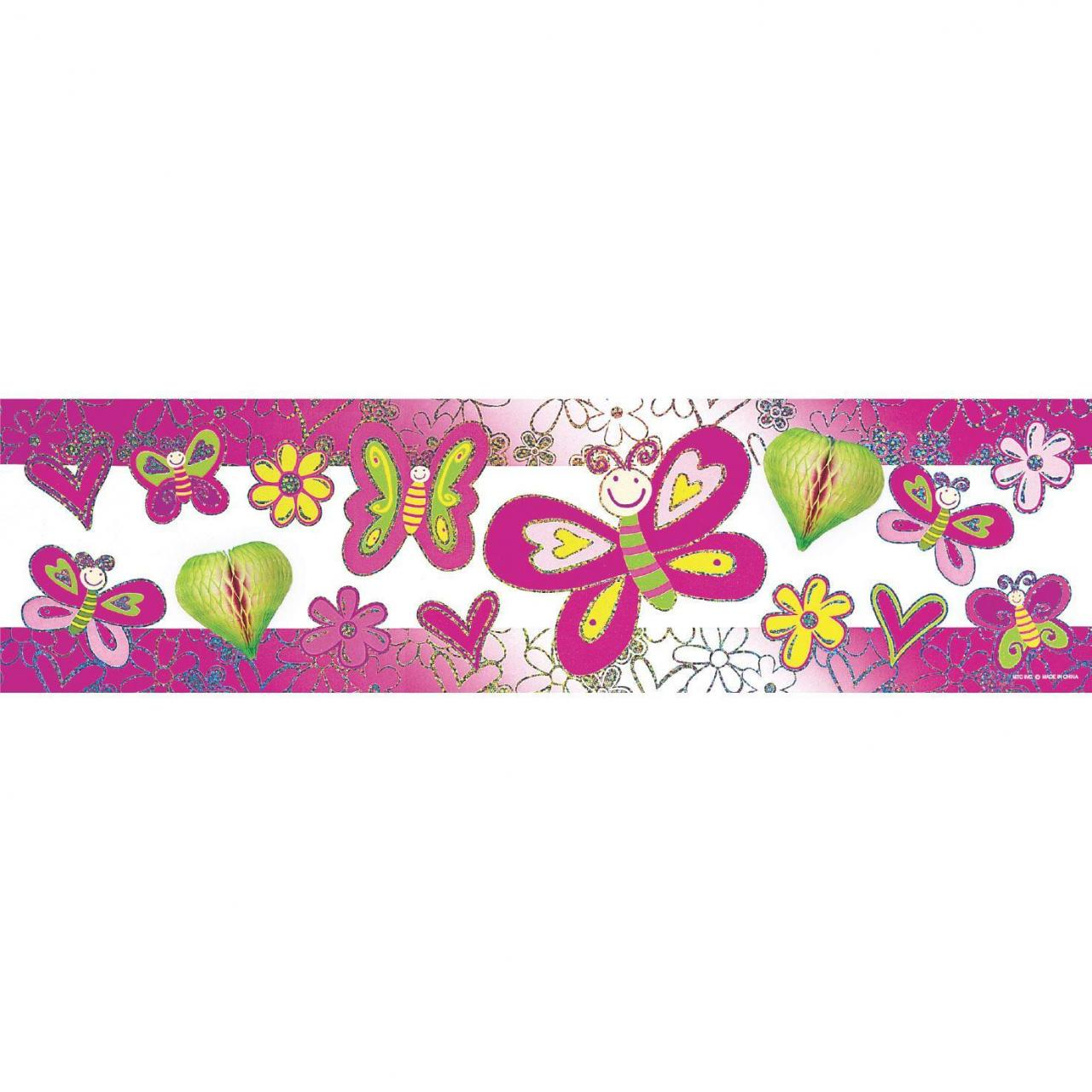 China BUTTERFLIES - LASER PAPER TISSUE BANNER wholesale