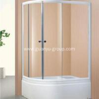 China Oval Simple Champagne Aluminium Shower Room wholesale