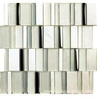 China marble stainless steel and glass mosaic wholesale