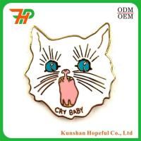 China High Quality Eco-friendly Custom Cloisonne Hard Enamel Lapel Pin wholesale