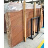 Buy cheap China Marble Slabs Red Wood Grain from wholesalers