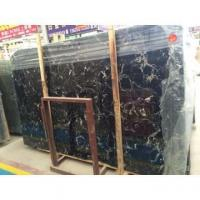 Buy cheap China Marble Slabs Black Ice Flower from wholesalers