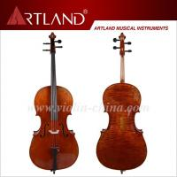 Cello Handmade from solid wood -red brown (ACA500)