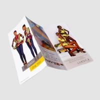 Buy cheap Cheap custom coloring 3 fold brochure printing service from wholesalers