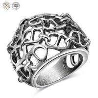 China Wholesale Mens Stainless Steel Wedding Rings wholesale