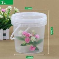 PP food grade 25L plastic bucket factory