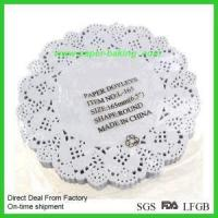 China Black Decorative Lace Cupcake Muffin Wrappers wholesale