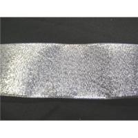 "China Ribbons Silver 1 1/2"" Metallic Ribbon wholesale"