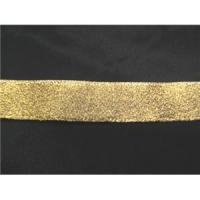 "China Ribbons Gold 1/2"" Metallic Ribbon wholesale"