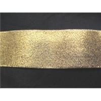"China Ribbons Gold 1"" Metallic Ribbon wholesale"