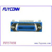 China Female 24 Pin Centronics Connector , Panel Mount Connectors Certified UL on sale