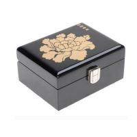 Buy cheap Black Wedding Jewelry Box from wholesalers