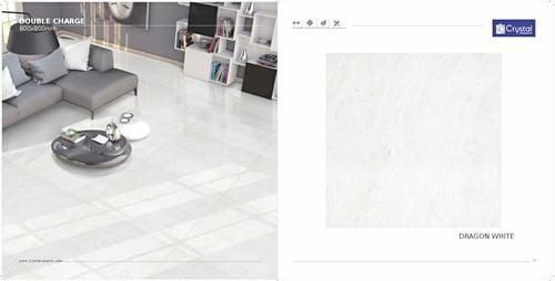 Quality Dragon White Vitrified Tile for sale