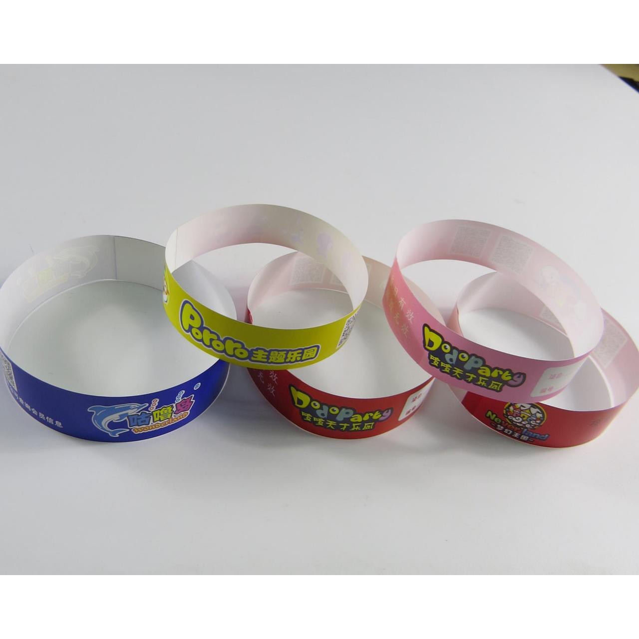 China Disposable Tyvek id wristbands bracelet wholesale