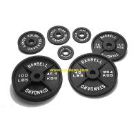Buy cheap Olympic Black weight plate ITEM NO.: TF-P1005 from wholesalers