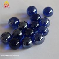 China Colorful Decoration Custom Glass Marbles,round Solid Home Decor Hand Made Glass Balls wholesale