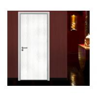 white interior wooden bedroom door