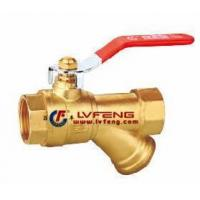 Buy cheap BALL VALVE WITH FILTER from wholesalers