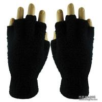 China Apparel & Clothing AG1006Fuzzy Fingerless Gloves (Blank) wholesale