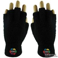 China Apparel & Clothing AG1007Embroidered Fuzzy Fingerless Gloves wholesale