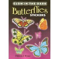 China Glow in the Dark Butterfly Stickers (15) wholesale