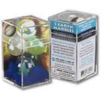 China Promotional Gifts Cosmic Earth - Set of 5 Glass Marbles as low as: $14.26 wholesale