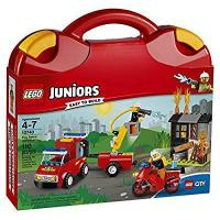 Buy cheap LEGO Juniors Fire Patrol Suitcase 10740 Toy for 4-7-Year-Olds from wholesalers