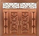 Double Leaf Luxurious Cooper Door And Window