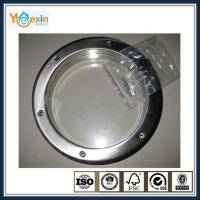 Circular Stainless Steel window Porthole for Wooden Door, O.Diameter:260mm,350mm,390mm,450mm., Screw