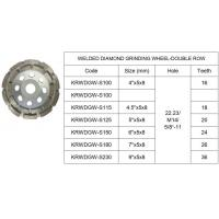 Buy cheap DIAMOND CUP WHEEL-DOUBLE from wholesalers