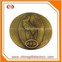 High Quality Antique Brass Metal Cusom Coin wtih Capsules