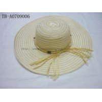 Natural Straw Hat Mixed Colors Designs Wholesale