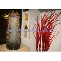 China Private Customized Murano Style Hand Made Glass Sculpture For Villa Hotel Lobby Decoration YJ-23 wholesale