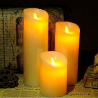 China 10CM Diameter Flameless Wax Candles wholesale