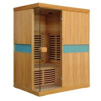 China Far Infrared Sauna 200cm Height Far Infrared Sauna House for 3 Person on sale