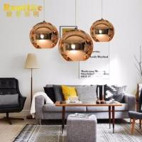 Buy cheap 2017 Popular Modern Pendant Lamp Mirror Glass Ball from wholesalers