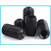China 12.9-Level Headless Hexagon Screw Concave End Screws on sale