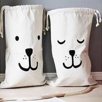 China Drawstring Canvas Laundry Bags Household wholesale