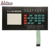 Buy cheap custom tactile prototype membrane switch keypad with leds for machine from wholesalers