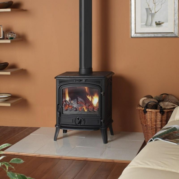 China FIREPLACE/STOVE CAST IRON WOOD BURNING STOVE 8KW