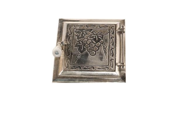 China FIREPLACE COMPONENTS Fireplace-Door (Chrome Plated)