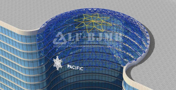 Quality PACIFIC STAR SPACE FRAME DOME ROOF for sale