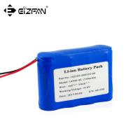 Buy cheap 14.4v inflating pump battery pack 4s1p 18650 750mAh from wholesalers