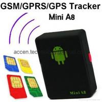 Buy cheap Mini A8 Quad Band GSM GPRS GPS Tracker Kids Pet Personal Locator W/ SOS Button from wholesalers