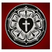 Buy cheap Cross Luther Rose Seal Silver from wholesalers