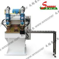 Buy cheap Double welding head welding machine from wholesalers