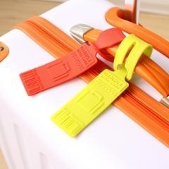 Quality Bulk wholesale silicone luggage tag for sale