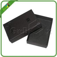China Cardboard Boxes Black Matte Decorative Cardboard Storage Gift Boxes with Logo Debossed on Lids on sale